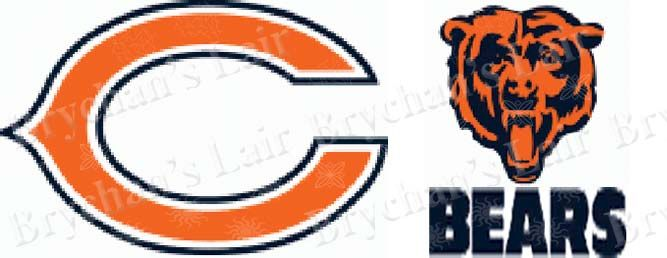 Chicago Bears USA Made Custom Grosgrain Ribbon - product image
