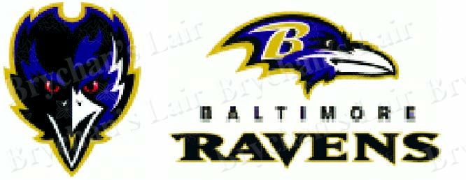 Baltimore Ravens Grosgrain Ribbon - product image
