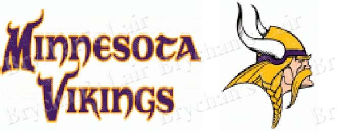 Minnesota Vikings Grosgrain Ribbon - product image
