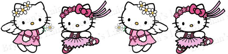 Hello kitty angel ballerina usa made craft grosgrain ribbon brychan 39 s lair - Ballerine hello kitty ...