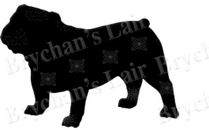 Bulldog Silhouette Bulldog,silhouette,dog,breed