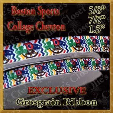 Boston,Sports,Red,Sox,Bruins,Patriots,Celtics,Chevron,Grosgrain,Ribbon,Boston Sports Red Sox Bruins Patriots Celtics Chevron Pattern Custom Designer grosgrain ribbon, mlb grosgrain ribbon, nfl grosgrain ribbon, nba grosgrain ribbon, ncaa grosgrain ribbon, nhl grosgrain ribbon, custom printed grosgrain ribbon, designer grosgr