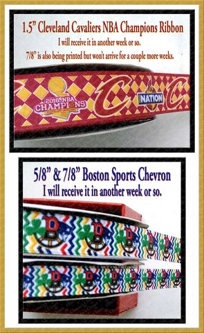 Pre-order,Cavs,&,Boston,Sports,EXCLUSIVE,WHOLESALE,Grosgrain,Ribbon,boston sports chevron exclusive grosgrain ribbonCleveland Cavaliers NBA Champions 2016 Custom Grosgrain Ribbon, mlb grosgrain ribbon, nfl grosgrain ribbon, nba grosgrain ribbon, ncaa grosgrain ribbon, nhl grosgrain ribbon, custom printed grosgrain ribbon