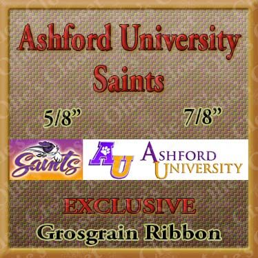 Ashford,University,Saints,Grosgrain,Ribbon,Ashford University Saints ribbon, mlb grosgrain ribbon, nfl grosgrain ribbon, nba grosgrain ribbon, ncaa grosgrain ribbon, nhl grosgrain ribbon, custom printed grosgrain ribbon, designer grosgrain ribbon, team grosgrain ribbon