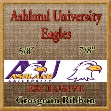 Ashland,University,Eagles,Custom,Designer,Grosgrain,Ribbon,Ashland University Eagles Custom Designer Grosgrain Ribbon, breed specific dog ribbon, craft dog ribbon, grosgrain ribbon, dog breed grosgrain ribbon, custom grosgrain ribbon, designer grosgrain ribbon, pedigree dog grosgrain ribbon