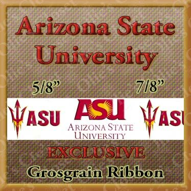 Arizona,State,University,Grosgrain,Ribbon,Arizona State University ribbon, mlb grosgrain ribbon, nfl grosgrain ribbon, nba grosgrain ribbon, ncaa grosgrain ribbon, nhl grosgrain ribbon, custom printed grosgrain ribbon, designer grosgrain ribbon, team grosgrain ribbon
