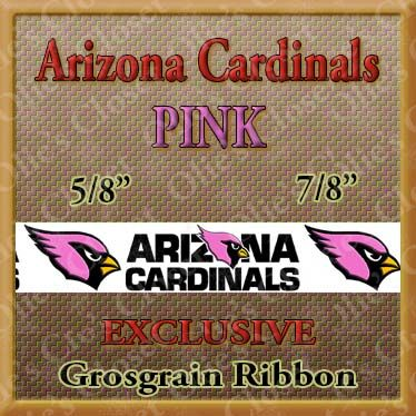 Arizona,Cardinals,PINK,Grosgrain,Ribbon,Arizona Cardinals Pink, mlb grosgrain ribbon, nfl grosgrain ribbon, nba grosgrain ribbon, ncaa grosgrain ribbon, nhl grosgrain ribbon, custom printed grosgrain ribbon, designer grosgrain ribbon, team grosgrain ribbon