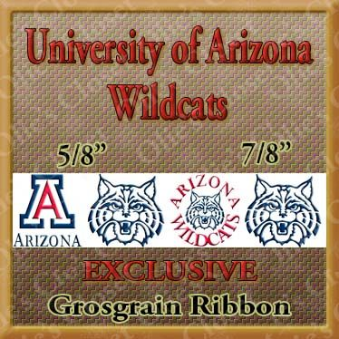 Arizona,University,Wildcats,Grosgrain,Ribbon,Arizona University Wildcats ribbon, mlb grosgrain ribbon, nfl grosgrain ribbon, nba grosgrain ribbon, ncaa grosgrain ribbon, nhl grosgrain ribbon, custom printed grosgrain ribbon, designer grosgrain ribbon, team grosgrain ribbon