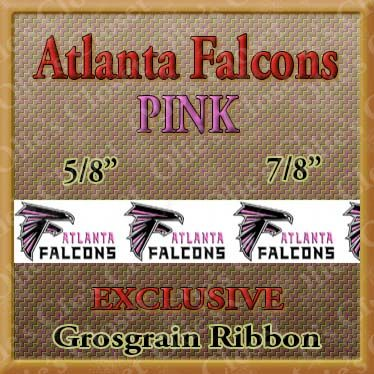 Atlanta,Falcons,PINK,Grosgrain,Ribbon,Atlanta Falcons Pink, mlb grosgrain ribbon, nfl grosgrain ribbon, nba grosgrain ribbon, ncaa grosgrain ribbon, nhl grosgrain ribbon, custom printed grosgrain ribbon, designer grosgrain ribbon, team grosgrain ribbon