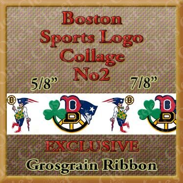 Boston,Sports,No2,Red,Sox,Bruins,Patriots,Celtics,Grosgrain,Ribbon,Boston Sports Collage Logo No2 Red Sox Bruins Patriots Celtics Custom Designer grosgrain ribbon, mlb grosgrain ribbon, nfl grosgrain ribbon, nba grosgrain ribbon, ncaa grosgrain ribbon, nhl grosgrain ribbon, custom printed grosgrain ribbon, designer grosg