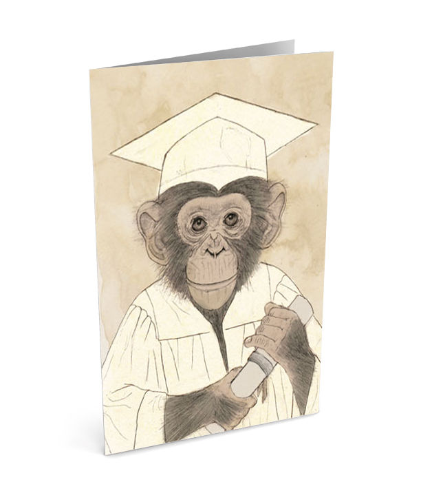 graduation greeting card single sumi senthi