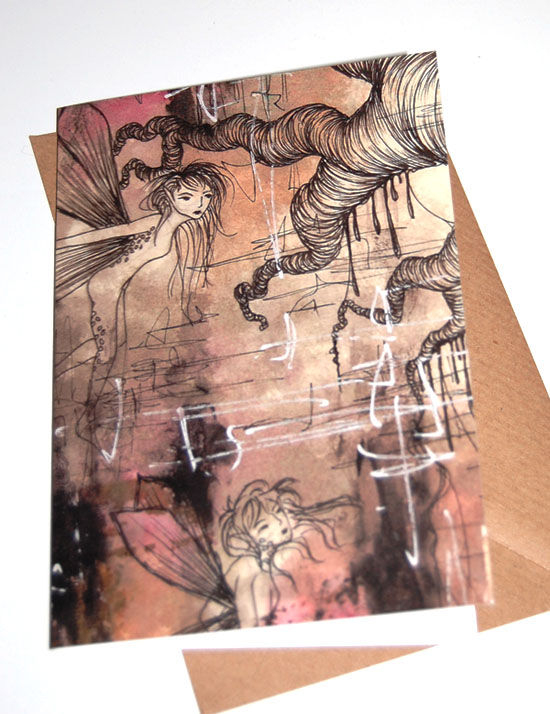 Fairy Greeting Card (SINGLE) - product images  of