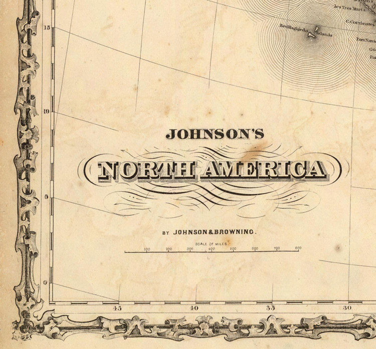 Old Map Of United States Of America North America OLD MAPS - How old is the united states of america