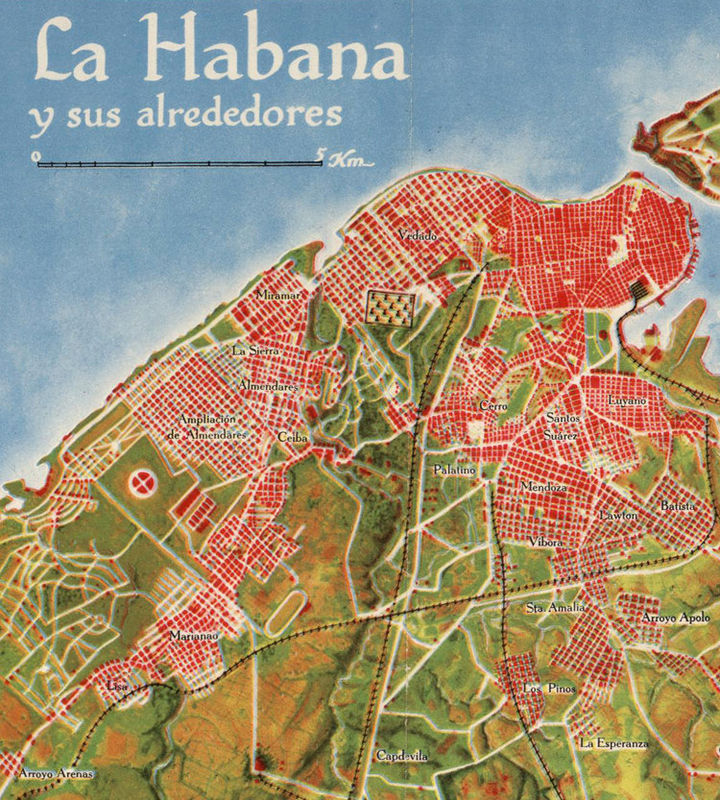 Old Map Of Cuba And Habana Vintage Map OLD MAPS AND VINTAGE - Vintage map of cuba