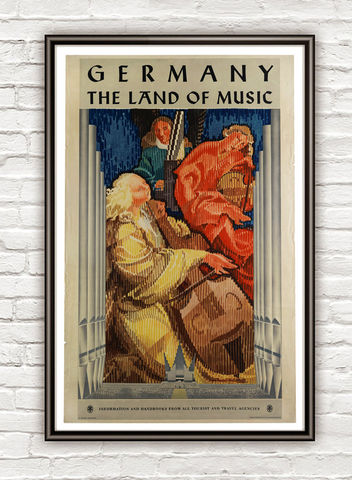 Vintage,Poster,of,Germany,,,The,Land,Music,,1941,Art,Reproduction,Open_Edition,vintage_poster,germany_poster,germany_retro,land_of_music,germany_vintage,germany_wall_decor,musicians,deutshland,germany,retro_poster,travel_poster,decor_germany