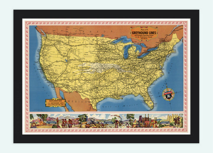 Old Map Of United States North America OLD MAPS AND VINTAGE - How old is the united states of america