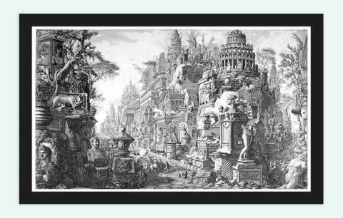 Giovanni,Battista,Piranesi,Ruins,Rome,Engraving,1756,Art,Reproduction,Open_Edition,Italia,gravure,architecture_drawing,engraving,art,Roma,Piranese,Giovanni_Battista,antique,sketch