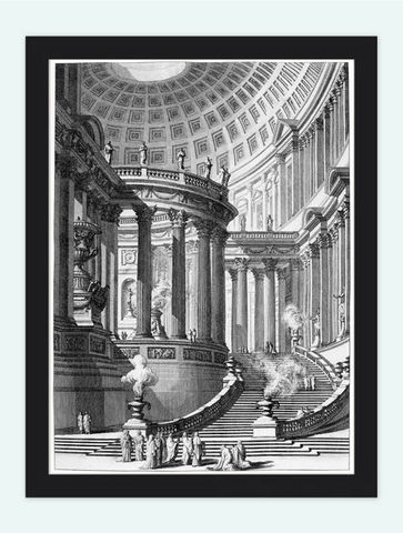 Giovanni,Battista,Piranesi,Antique,Temple,Engraving,1743,Art,Reproduction,Open_Edition,Italia,gravure,architecture_drawing,engraving,art,Roma,Rome,Piranese,Giovanni_Battista,antique,sketch