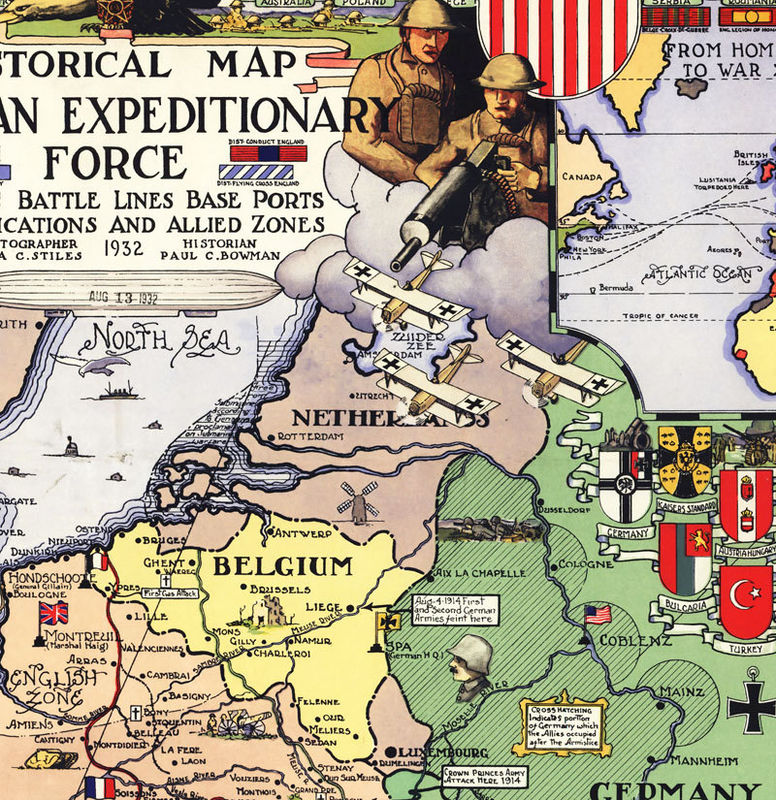 the american expeditionary forces and world Order of battle of the united states land forces in the world war, american  expeditionary forces: general headquarters, armies, army corps,.