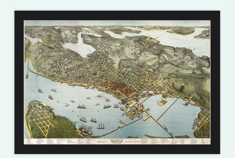 Vintage,View,of,Seattle,BirdsEye,,United,States,America,,,Washington,1891,Art,Reproduction,Open_Edition,United_States,USA,city_map,retro,antique,birdseye,seattle,map_of_seattle,seattle_view,view_of_seattle,seattle_poster,seattle_map,vintage_seattle