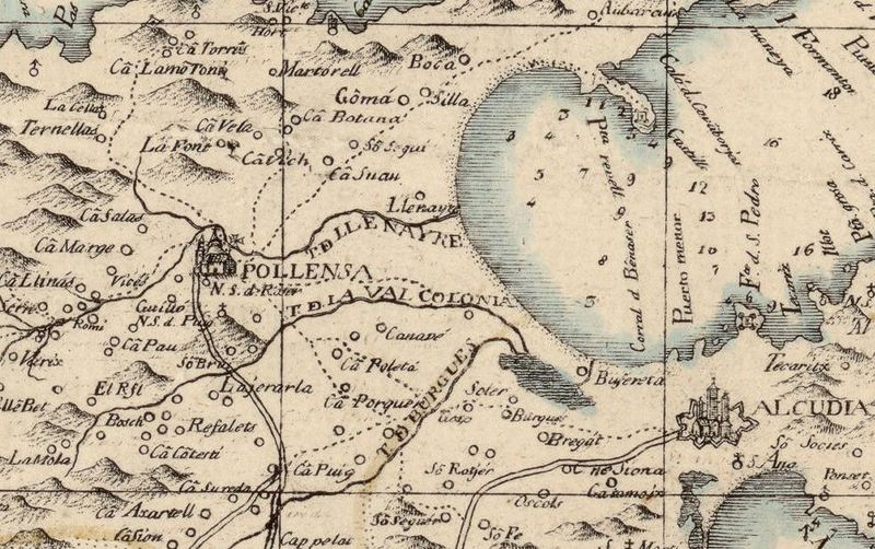 old map of mallorca maiorca spain 1814 old maps and vintage prints