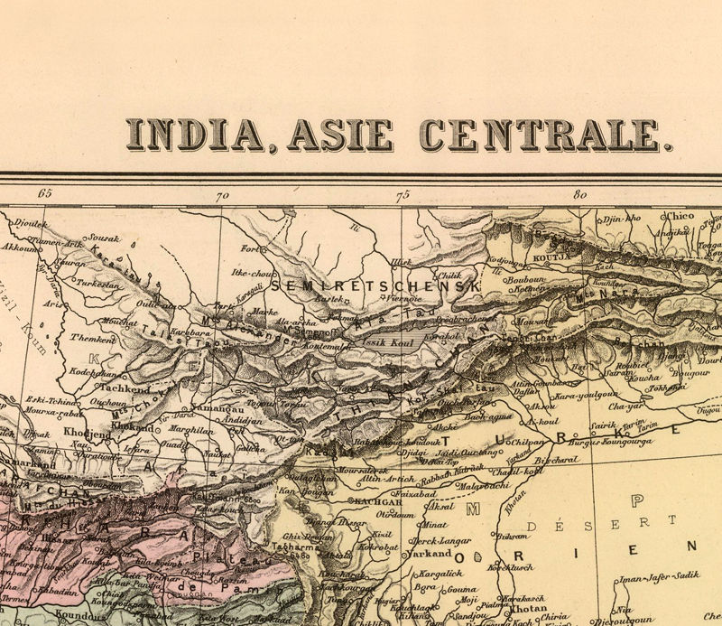 Old map of india 1892 asia old maps and vintage prints old map of india 1892 asia product image publicscrutiny Gallery