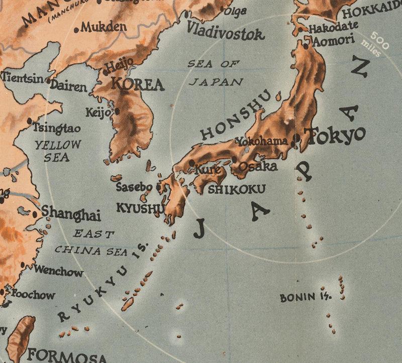 Vintage Target Tokyo Japan War Map Poster OLD MAPS AND - Japan map poster
