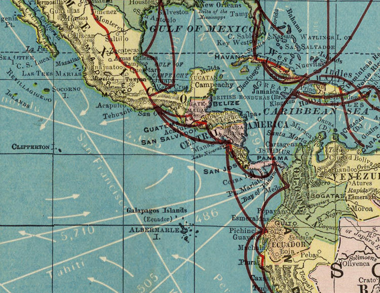 World map vintage atlas 1924 mercator projection old maps and world map vintage atlas 1924 mercator projection product image gumiabroncs Image collections