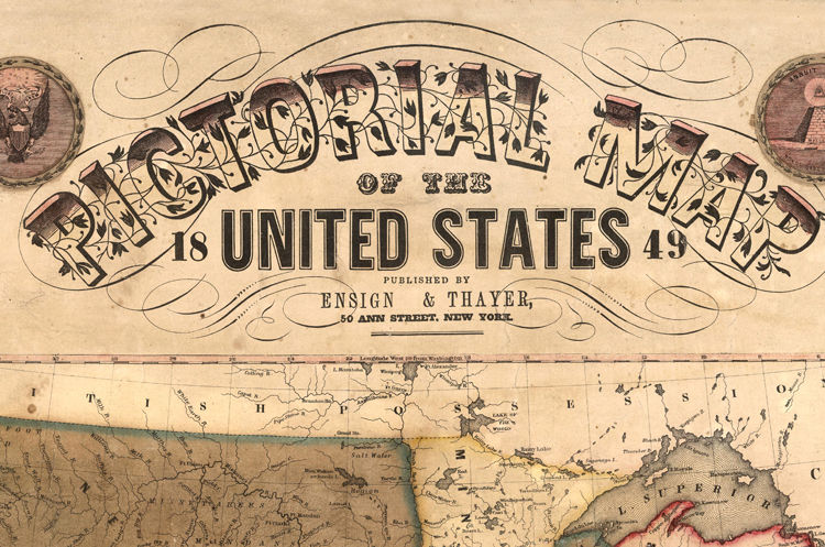 Old Map Of United States Of America USA Map OLD MAPS AND - Old map us