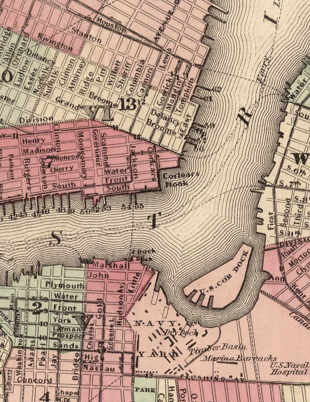 York (ME) United States  city pictures gallery : ... new york united states 1866 manhattan listed in old city maps u states