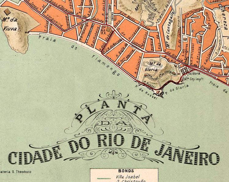 Old Map Of Rio De Janeiro Brasil Vintage Map OLD MAPS AND - Rio de janeiro map
