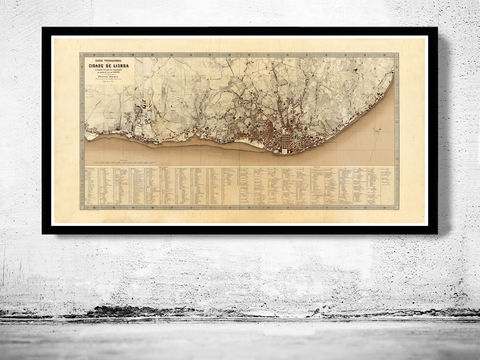 Old,Map,of,Lisbon,Lisboa,Portugal,mapa,antigo,1871,mapa antigo de lisboa, mapa de lisboa, maps for sale, buy map, lisbon map, map of lisbon, lisbon portugal, lisboa poster, lisbon poster, vintage map, antique map, mapa antigo