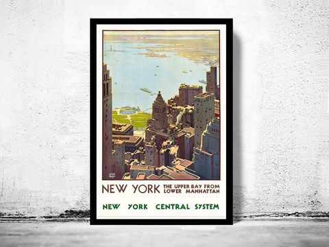 vintage poster of napoli italy 1920 tourism poster travel old maps and vintage prints. Black Bedroom Furniture Sets. Home Design Ideas
