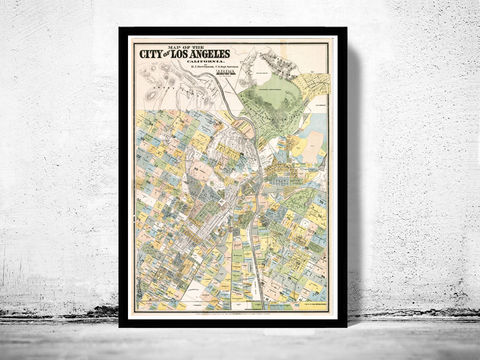 Vintage,Map,of,Los,Angeles,1884,Art,Reproduction,Open_Edition,gravures,united_states,Los_Angeles,California,north_america,historic_map,old_map,vintage_map,los_angeles_map,map_of_los_angeles,wonder_city,vintage_poster,antique_map