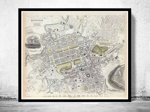 Old,Map,of,Edinburgh,Edinbourg,with,gravures,,Scotland,1834,Vintage,Art,Reproduction,Open_Edition,vintage_map,city_plan,edinburgh,edinbourg,engraving,edinburgh_map,edinbourg_poster,edinburgh_decor,scotland_edinburgh,old_map_of_edinburgh,edinburgh_retro