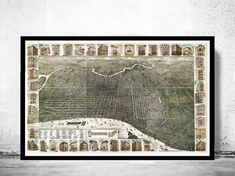 Birdseye,View,of,Philadelphia,United,States,1886,Art,Reproduction,Open_Edition,vintage,United_States,panoramic_view,gravure,illustration,urban,philadelphia,birdseye,vintage_map,old_map,city_plan,old_gravure