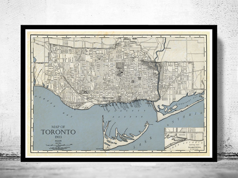 Old map of toronto ontario canada 1903 vintage map toronto old old map of toronto ontario canada 1903 vintage map toronto product image gumiabroncs Choice Image