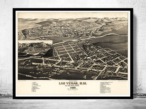 Vintage,Panoramic,View,of,Las,Vegas,New,Mexico,Birdseye,,,1882,Art,Reproduction,Open_Edition,city_map,retro,birdseye,panoramic,vintage_map,birdseye_view,saint_paul_map,las_vegas,las_vegas_poster,las_vegas_new_mexico,las_vegas_vintage,las_vegas_decor,las_vegas_map