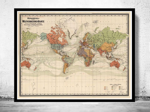Old,World,Map,Atlas,Vintage,1906,Colonial,Chart,Mercator,projection,world maps for sale, old maps for sale, Art,Reproduction,Open_Edition,World_map,old_map,antique,atlas,discoveries,explorations,vintage_poster,city_plan,earth_atlas,map_of_the_world,world_map_poster,old_world,vintage_world_map
