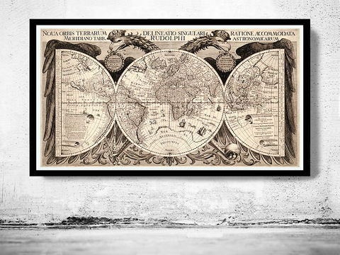 Old,World,Map,Antique,Atlas,1630,Art,Reproduction,Open_Edition,vintage,World_map,old_map,antique,atlas,vintage_map,engraving,medieval,globe,europe,asia,america,map_of_the_world