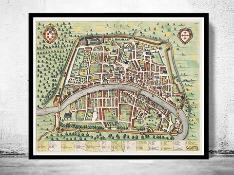 Old,Map,of,Pisa,,Italia,1700,Antique,Vintage,Italy,engraving,Art,Reproduction,Open_Edition,city_map,antique,italy,italia,city_plan,vintage_poster,vintage_map,old_map,map_of_pisa,pisa_map,pisa,tower_of_pisa,pisa_tower
