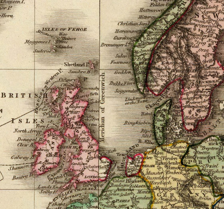Old World Map in 1812   OLD MAPS AND VINTAGE PRINTS