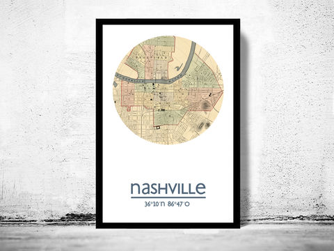 NASHVILLE,-,city,poster,map,print, Nashville print, Nashville  poster, Nashville Poster, Nashville Tennessee,Nashville  , Nashville map, wall decor, city,maps, travel poster