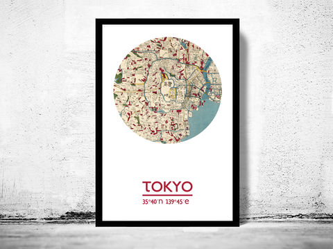 TOKYO,-,city,poster,map,print,Art,Reproduction,Open_Edition,tokyo_print,tokyo__poster,Japan_Poster,japanese_art,tokyo,tokyo_map,wall_decor,asian_art,maps,travel_poster