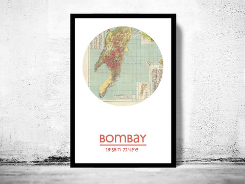 BOMBAY,(2),-,city,poster,map,print, BOMBAY print, india poster, indian Poster, indian art, BOMBAY , BOMBAY map, wall decor, city,india art,maps,MUMBAI, travel poster