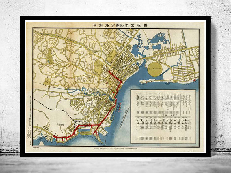 Pity, Vintage maps singapore Very valuable