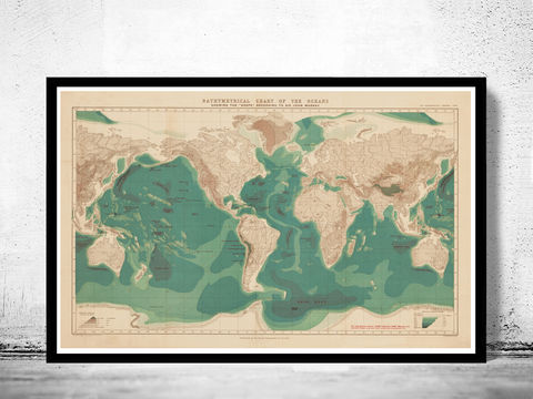 Bathymetrical,chart,of,the,oceans,world,map,1899,Art,Reproduction,Open_Edition,vintage,World_map,old_map,antique,atlas,imperial,ornamental,geography,vintage_map,vintage_world_map,old_world_map,oldcityprints