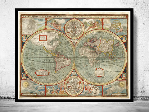 Old,World,Map,1627,Two,Hemispheres,old map of the world, antique map of the world, Art,Reproduction,Open_Edition,World_map,old_map,antique,atlas,discoveries,explorations,vintage_poster,city_plan,earth_atlas,map_of_the_world,world_map_poster,old_world,vintage_world_map
