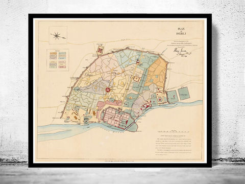 Vintage,Map,of,Delhi,India,1857,Art,Reproduction,Open_Edition,old_map,vintage_map,delhi,delhi_map,old_delhi,indian,indian_poster,vintage_delhi,old_map_of_delhi,map_of_delhi,antique_delhi,old_indian_map
