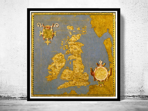 Old,Map,of,United,Kingdom,Great,Britain,1565,great britain, united kingdom, Art,Reproduction,Open_Edition,city,vintage,plan,UK,England,London,United_Kingdom,Scotland,Ireland,Britannia,old_map,england_map,map_of_england